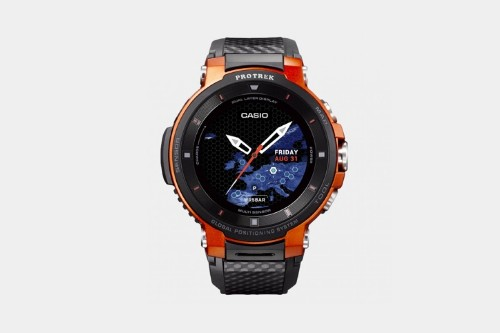 Casio's newest outdoor Wear OS watch is its smallest and longest-lasting one yet