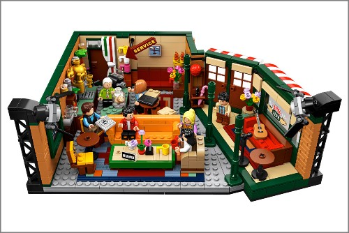 Lego's new 'Friends' set lets you build your own Central Perk