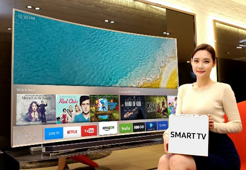 Samsung's new TVs will have a slick universal remote that runs Tizen