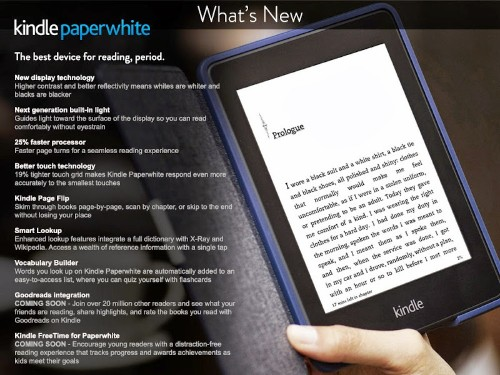 Amazon accidentally reveals new Kindle Paperwhite and September 30th release date