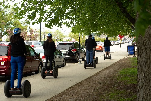 Norway may have arrested its first drunk Segway driver