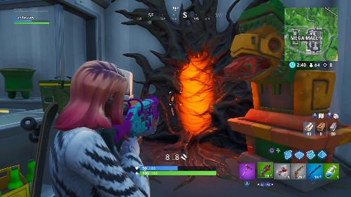 Stranger Things portals are popping up in Fortnite