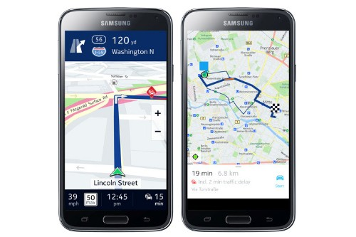 Samsung navigates away from Google with Here maps for Galaxy phones