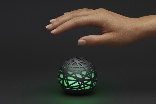 Sense is a glowing sphere that watches over you while you sleep