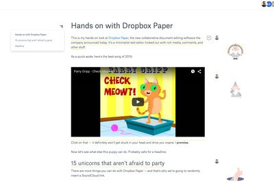 Hands on with Paper, Dropbox's answer to Google Docs