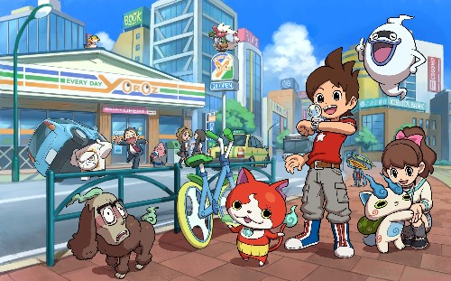 Nintendo is bringing Pokemon-like sensation Yo-kai Watch to the US