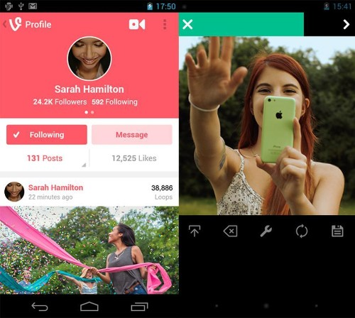 Vine for Android is a lot better now