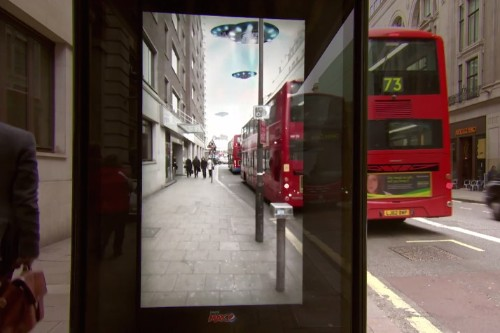 Pepsi's bus stop ad in London might be the best use of augmented reality yet