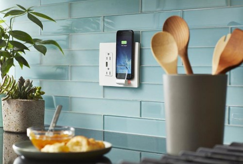 Turn a wall outlet into a wireless charger with the Legrand Radiant