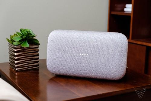Google's loud Home Max speaker is $40 off for Verge readers