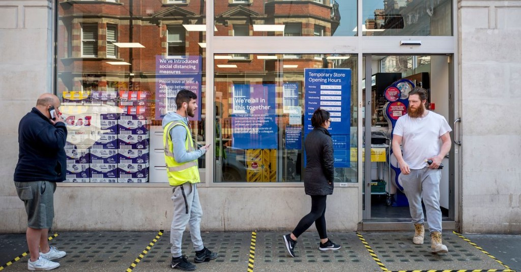 Shoppers Spent £2 Billion More Than Normal in Supermarkets in March
