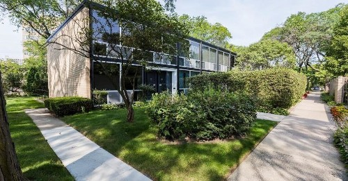 This Mies van der Rohe townhouse is a bargain at $337K