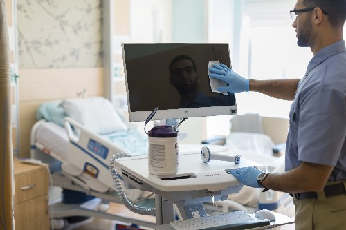 HP releases new germicide-resistant computers for hospitals