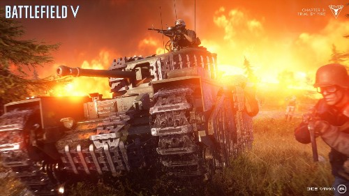 Battlefield V's Firestorm is a harsh and chaotic take on battle royale