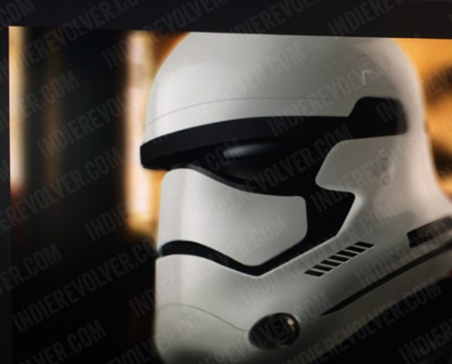 This could be a stormtrooper from 'Star Wars: Episode VII'