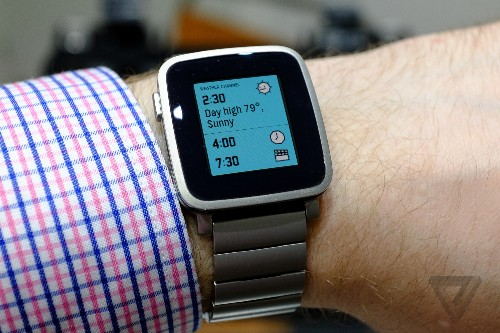 The Apple Watch event likely caused a spike in Pebble Kickstarter backers
