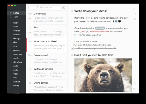Why I finally replaced Evernote with Bear