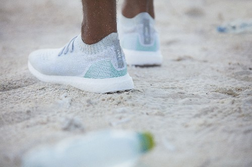 This Adidas sneaker made from recycled ocean waste is going on sale this month