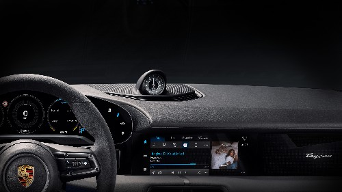 Porsche's Taycan will be the first car with a built-in Apple Music app