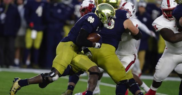 No. 9 Notre Dame wears down No. 14 N.C. State behind Adams, Love