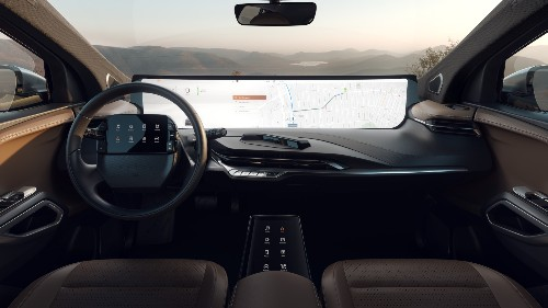 Byton adds another screen to its car full of screens