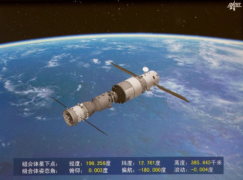 China has deorbited its experimental space station