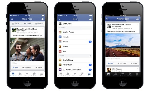 How Facebook secretly redesigned its iPhone app with your help