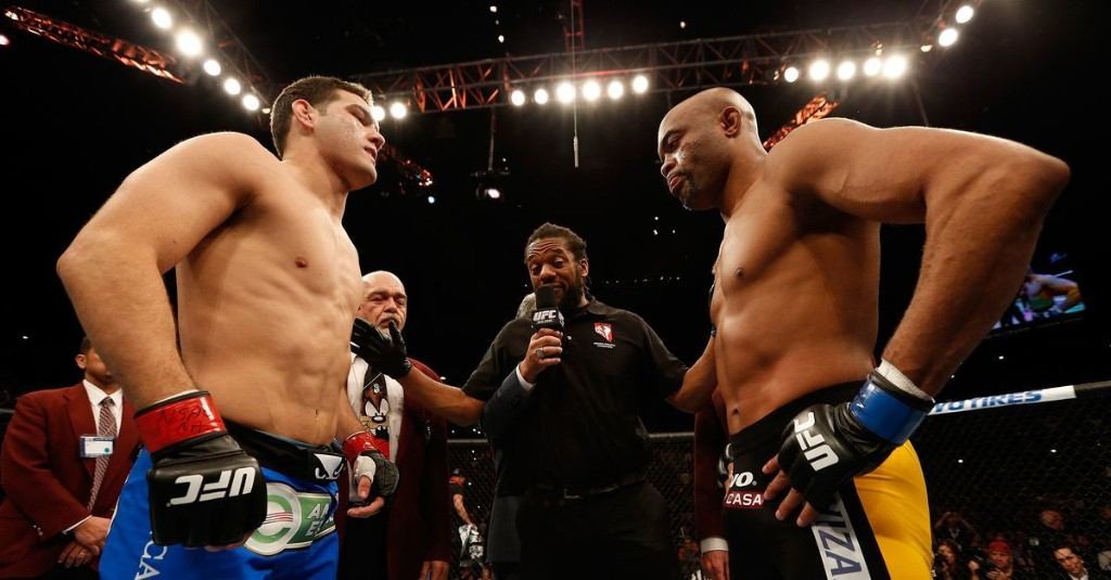 Morning Report: Ahead of Anderson Silva's final UFC fight, Chris Weidman recalls best and worst moments with 'The Spider'