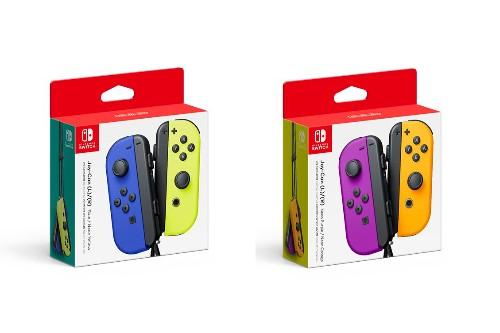 One of Nintendo's new Joy-Con color schemes is basically Waluigi-themed
