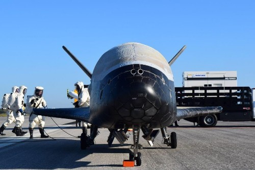 The US  Air Force's X-37B spaceplane is back home after its fourth mission