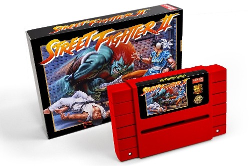 Capcom re-releases Street Fighter II on $100 cartridge that might set your SNES on fire