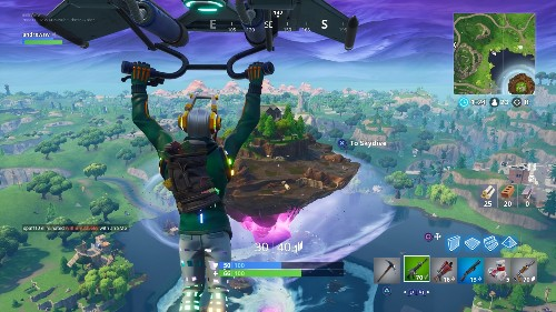 Fortnite runs at 60 fps on Apple's newest iPhones