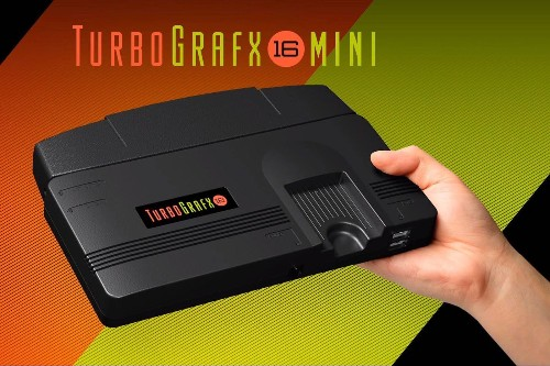 Konami announces TurboGrafx-16 Mini console