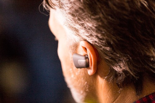 Soundhawk's earpiece lets you pick exactly what you want to hear