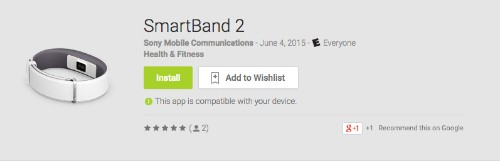 Sony reveals SmartBand 2 wearable with heart rate monitor