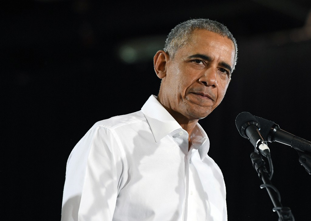 Obama denounces gun violence and white nationalism after recent mass shootings