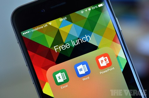 Microsoft's next surprise is free Office for iPad, iPhone, and Android