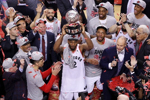 The Raptors risked it all for Kawhi Leonard. Now, they're going to the NBA Finals