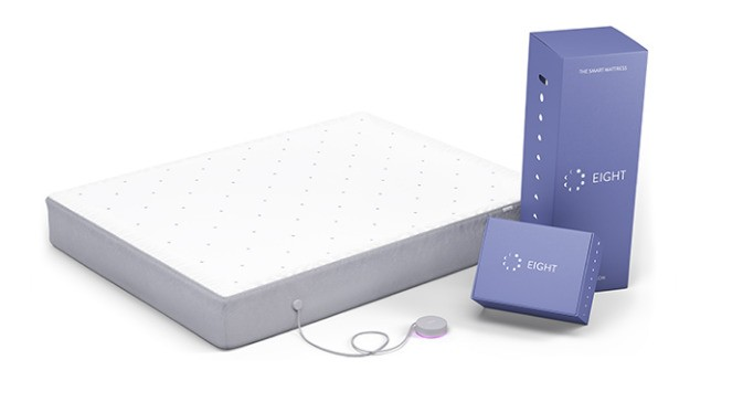 Eight's smart mattress can start brewing your coffee when you hit the snooze button