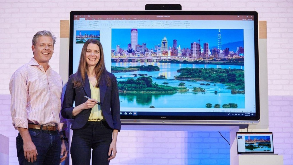 Microsoft launches new Windows Collaboration Displays to make meeting rooms smarter