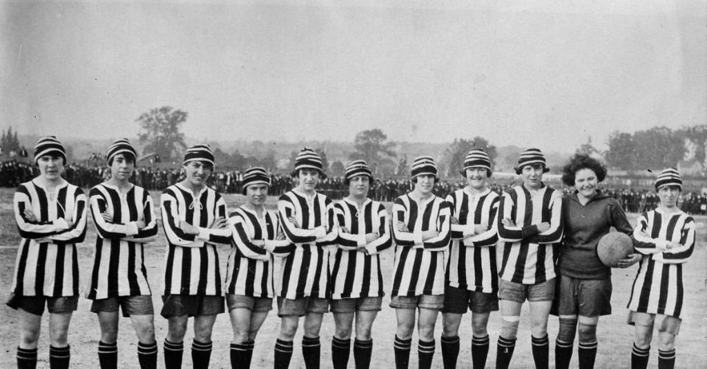 Major Link Soccer: A look back at the FA's ban on women's football, 99 years later