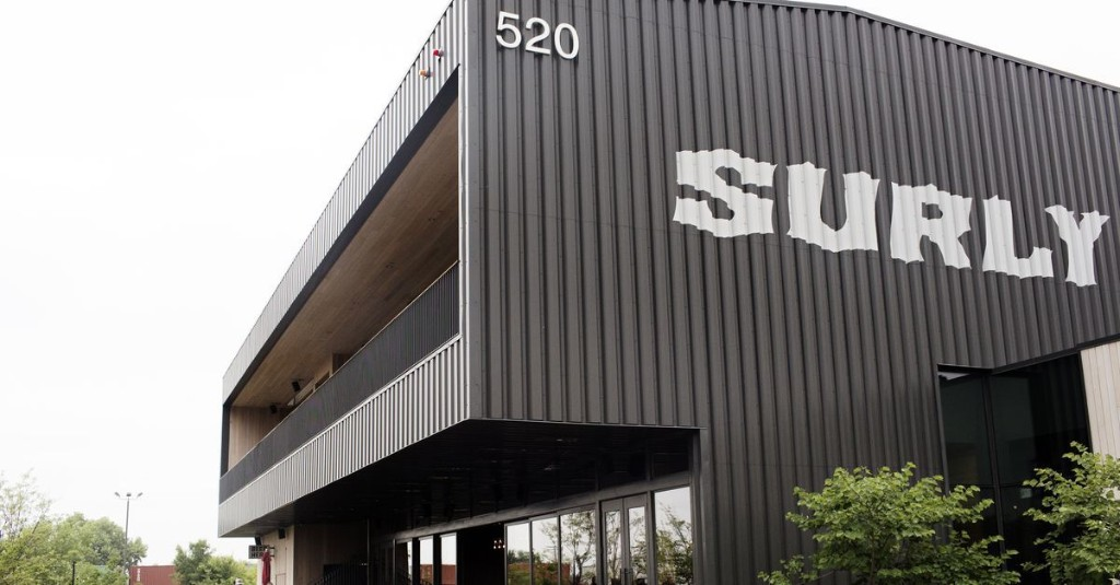 Surly Is Closing Its Massive Beer Hall Amid Employees' Attempt to Unionize