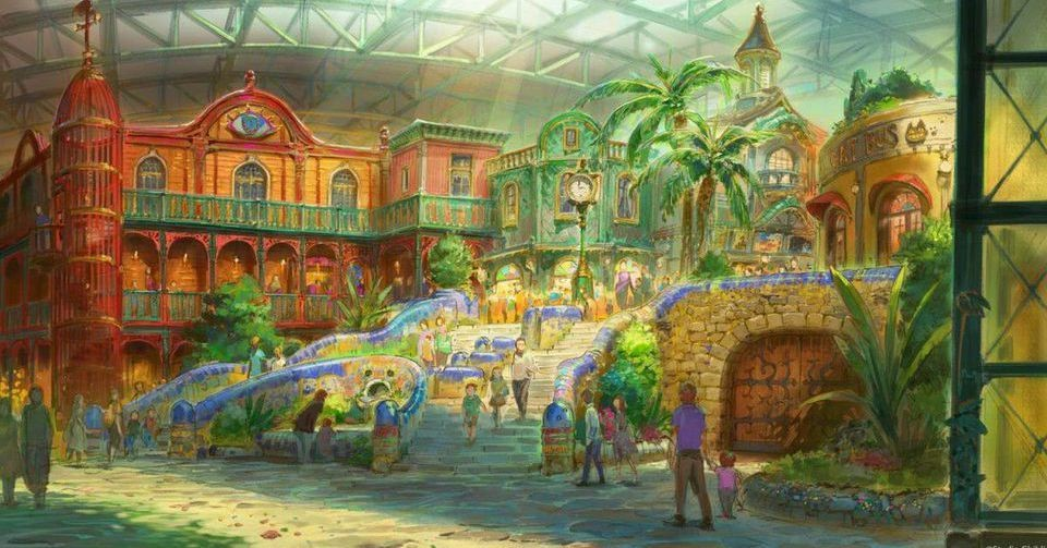 The latest details on the Studio Ghibli theme park