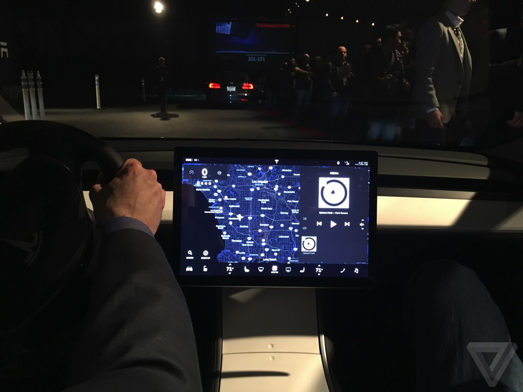 Why is the Tesla Model 3's dashboard so weird?