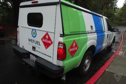 WeFuel is the latest app to deliver gas to your parked car