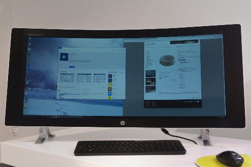 HP's new all-in-one PC is curved and ultra wide