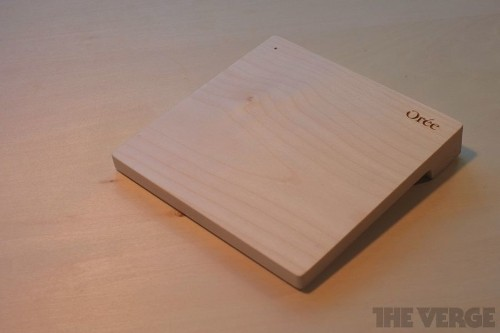 Orée puts the stone in Touchstone with a wireless charger made from marble