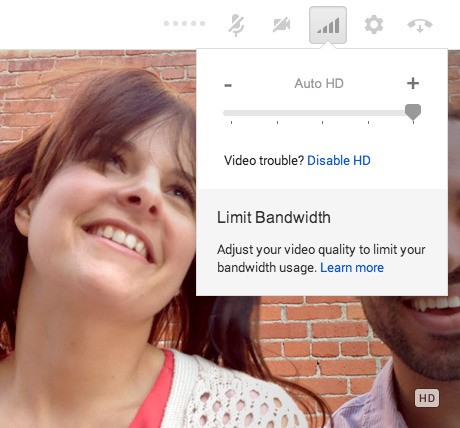 Google+ Hangouts slowly updating to HD video on the desktop