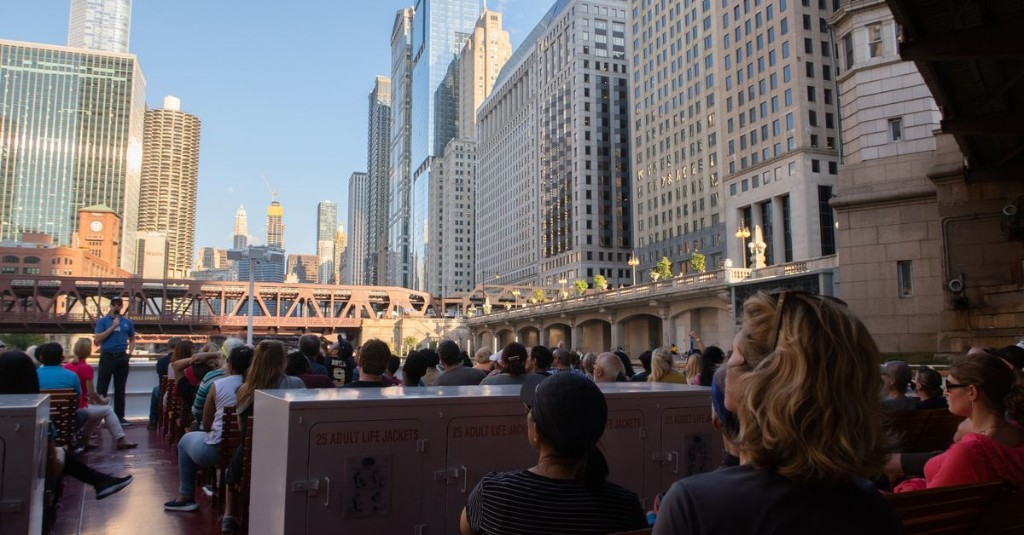 Chicago River architecture cruise voted second best travel experience in the world