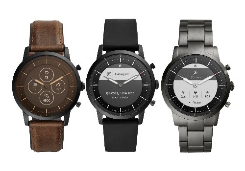 Fossil's new hybrid smartwatches have physical watch hands and always-on displays